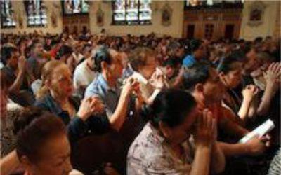 Mass in Paris